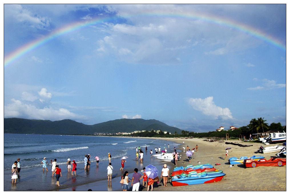 圖片:2010中國大陸十大最佳休閒都市-三亞