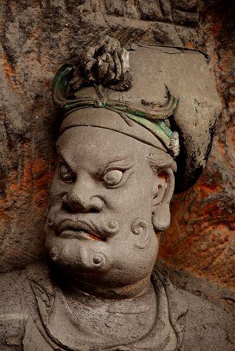 四川安岳石刻:毗盧洞石刻造像