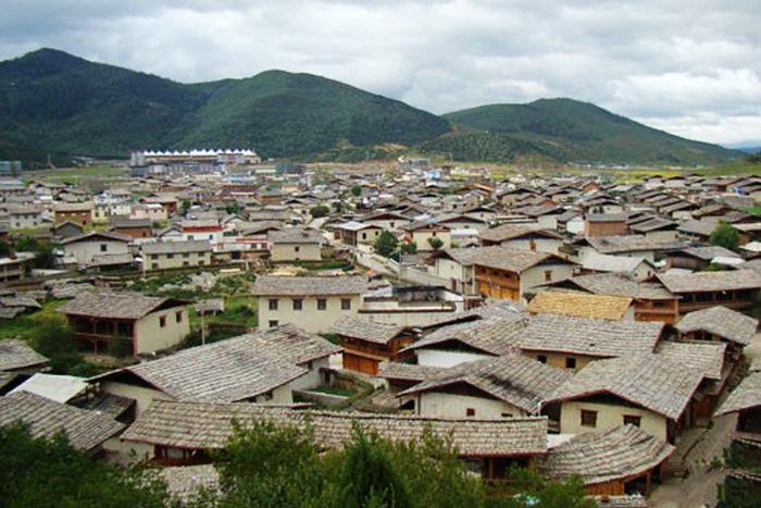 雲南香格里拉景點介紹:獨克宗古城