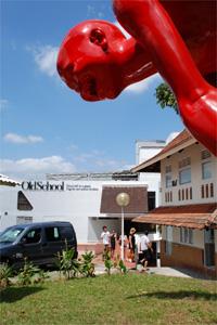 新加坡圖片:舊校舍裡的六幢建築已陸續迎來畫廊、攝影藝廊及獨立戲院,成了藝術愛好者的天地
