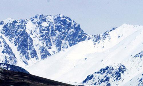 新疆托木爾冰川