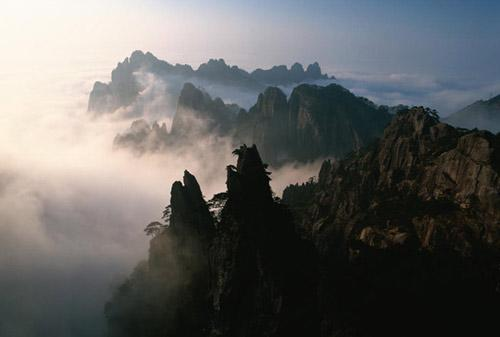亞洲世界遺產-黃山,中國