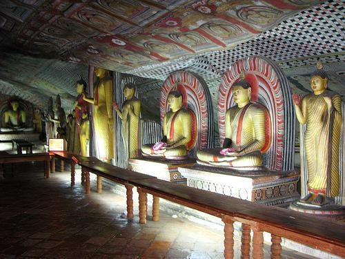 亞洲世界遺產-丹布拉石窟寺,斯里蘭卡