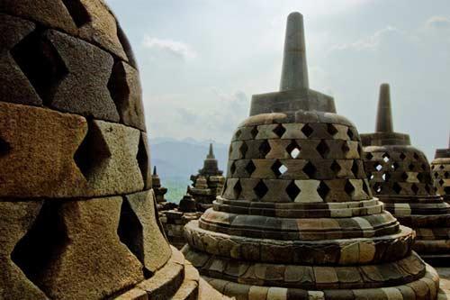 亞洲世界遺產-婆羅浮屠,印尼