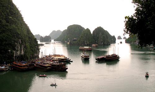 亞洲世界遺產-下龍灣,越南