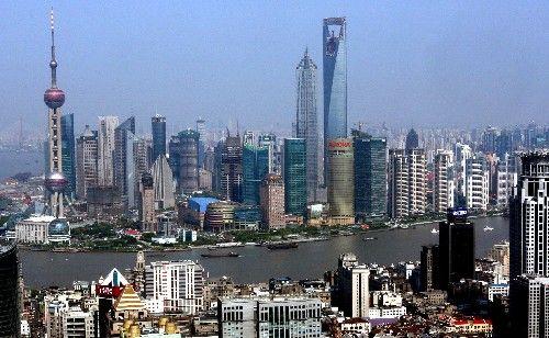 圖片:上海浦東陸家嘴金融貿易區