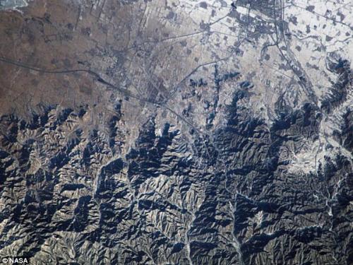 圖片:雄偉蜿蜒的中國萬里長城
