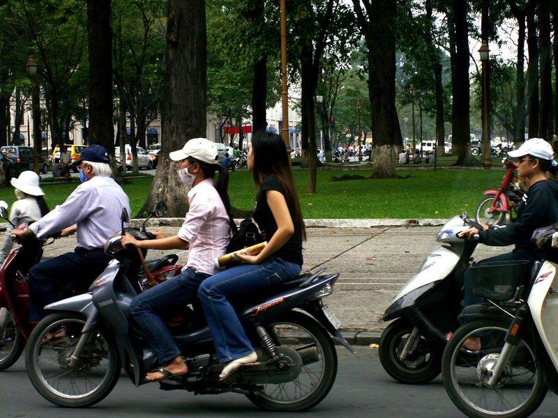 圖片:越南河內街頭