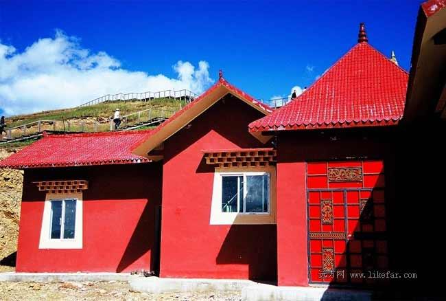 藏民的紅房子 作者:荊無牙