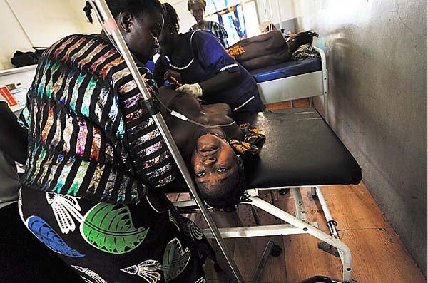 圖片:塞拉利昂的產婦死亡率極高