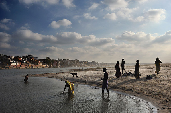 圖片:印度恆河流域用水問題日益嚴峻