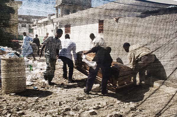 圖片:海地霍亂肆虐