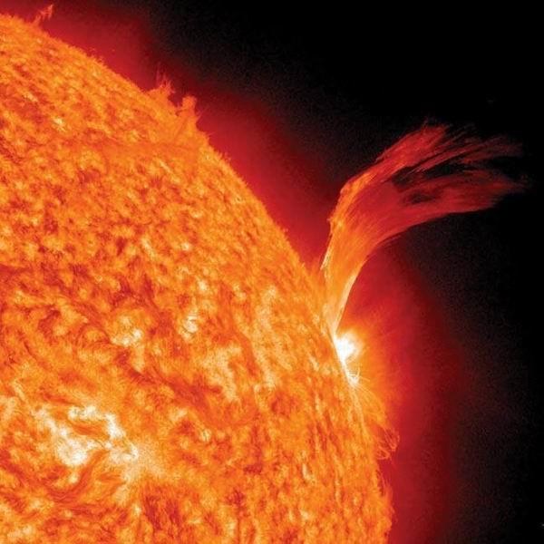 圖片:活潑的太陽